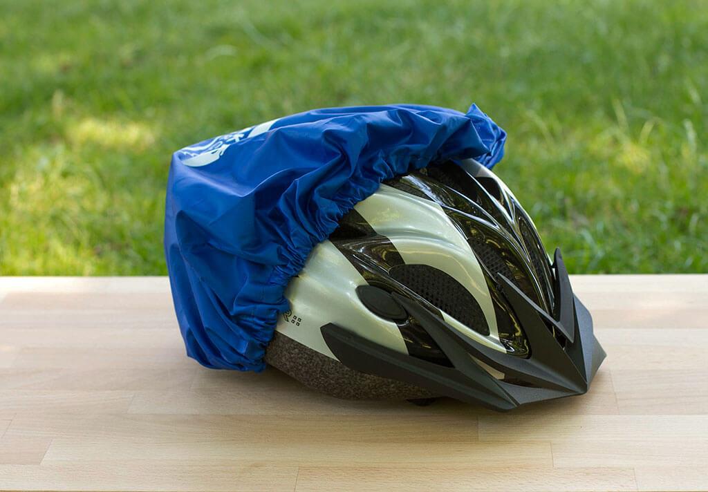 Fahrradhelm Regenschutz