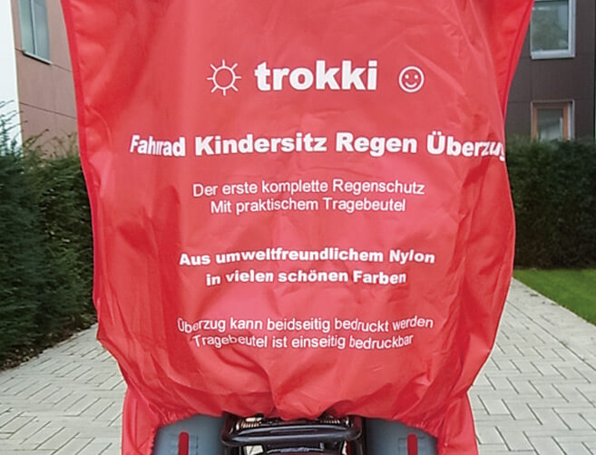 Fahrradkindersitzschutz