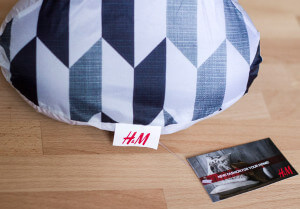 Sattelschutz H&M-Aktion